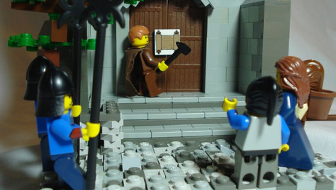 Lego Reformation Day!