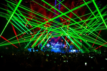 Lasers and Fog