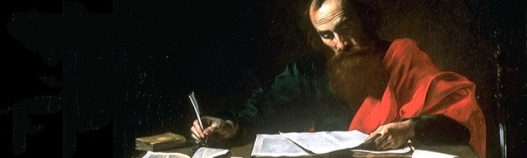 Paul Writing a Letter
