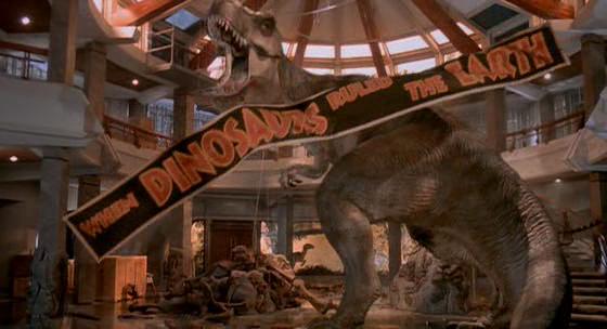Jurassic Park T Rex Roar Jurassic World ...
